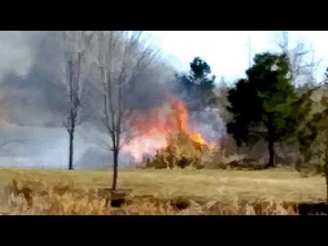 GOLF COURSE FIRE!!