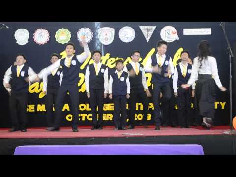 Jazz Chant   Jose Maria College   1st Interschool English Jazz Chants Festival video
