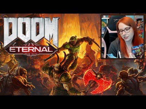 Playing DOOM Eternal (Xbox One) - Erin Plays Extras