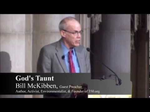 Bill McKibben's Sermon at The Riverside Church -