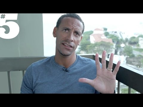 Rio Ferdinand Introduces Issue 18 ft. Trey Songz, Thierry Henry & Sergio Aguero