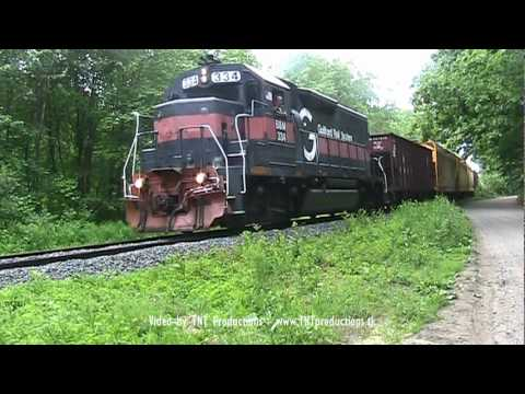 PanAm Train Symbol AY-4 in Westford, MA