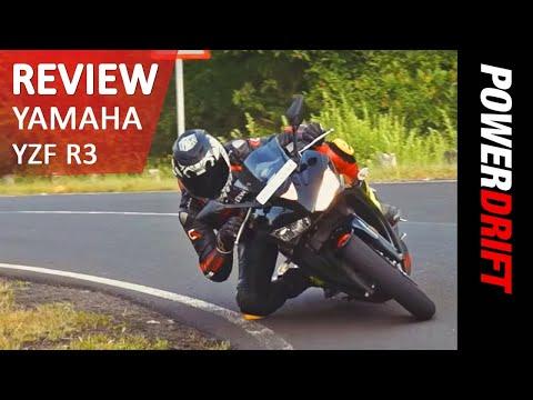 2015 Yamaha YZF - R3   Review   PowerDrift