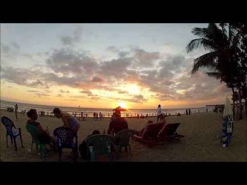 Cheap Massages & Beach Sunset in Legian. Bali
