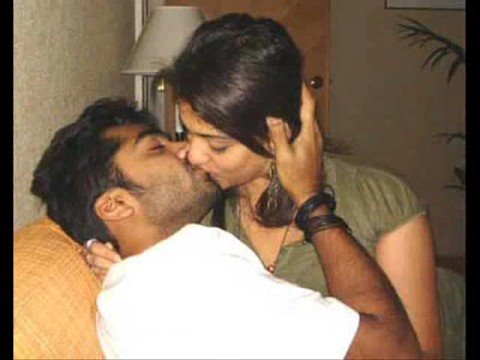 Simbu Kiss The Nayantara video