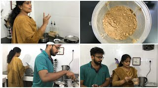 Mini Late Evening Vlog/Paruppu Podi/Vessel Cleaning/DIY