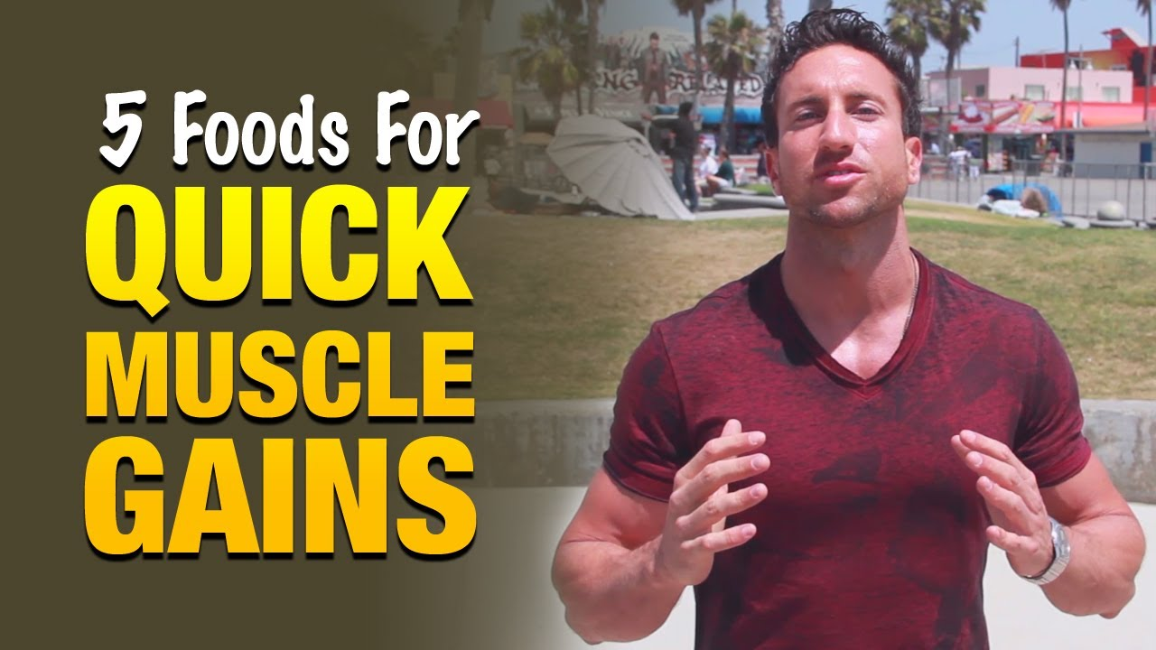 Foods To Eat To Gain Muscle: Eat These 5 Things For Faster Gains ...