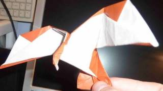 How To Make 3d Easy Eagle Origami Flying Bird 鷲折り紙鷹 águila 鹰 águia Orzeł Burung Elang