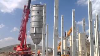 Vertical Kiln for Gypsum Erisim AS