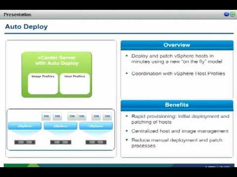 What's New in VMware vSphere 5 and vCenter Heartbeat 6.4
