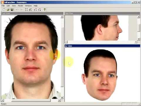 How to Convert 2D face picture into a 3D face Model