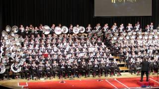 Ohio State Marching Band 2013 Concert Blockbuster Movie Halftime Show Music 11 10 2013