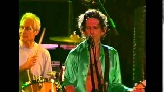 The Rolling Stones /Keith Richards - Happy LIVE 2003 (KR on fire)