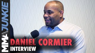 Daniel Cormier gives update on future plans to MMA Junkie's Mike Bohn