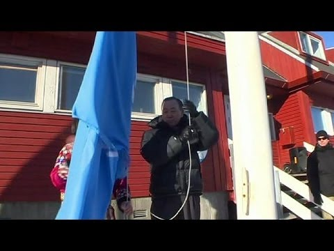 Ban Ki-moon visits Greenland to see climate change in the region - no comment