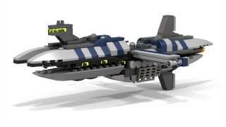 Lego STAR WARS - Munificent Class Frigate (Micro)