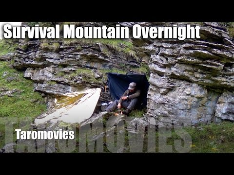 Survival Mountain Overnight & Alpenlore Belt/HD Bushcraft Survival Video