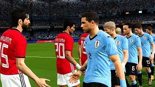 Egypt vs Uruguay | Group A FIFA World Cup Russia 15 June 2018 Gameplay