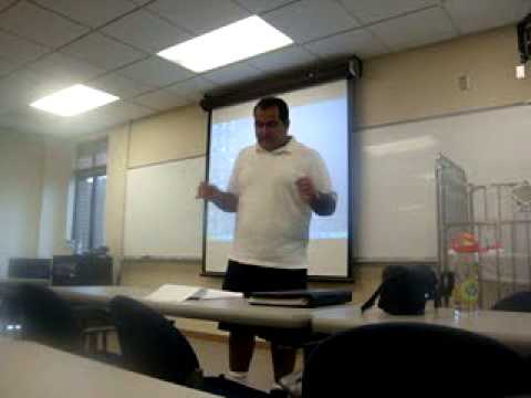 Nicholas Courgi's Lecture at Crouse Hospital School of Nursing! (Part 2)