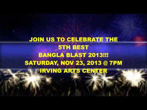BEST Bangla Blast 2013 - Naveed Mahbub Promo - Nov 23 @ Irving Arts Center