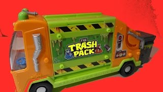 The TRASH PACK Garbage Truck Review - Camion de Poubelle