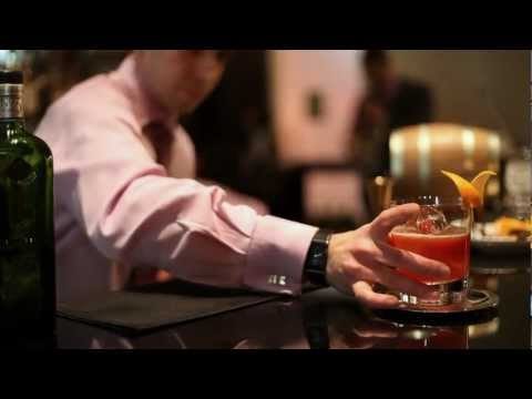 One Negroni Cocktail, The Lobby Bar at One Aldwych in Covent Garden