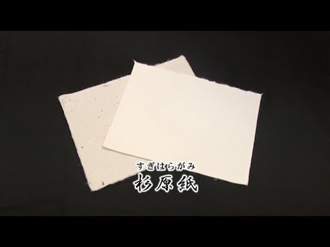 ~次世代に残したいもの~伝統の和紙「杉原紙」  (動画)