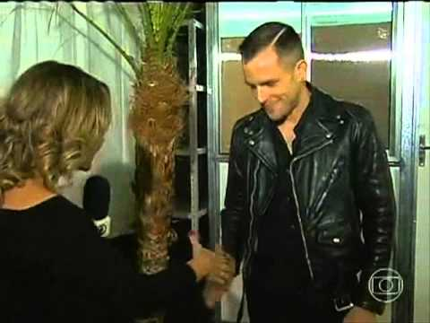 Entrevista Brandon Flowers ao Jornal da Globo