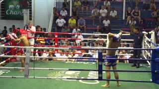 Saenchai vs. Saiyok part 1 HD