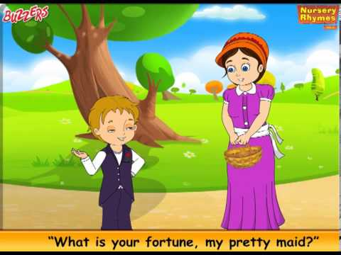Where Are You Going My Pretty Maid - Nursery Rhymes for Kids Buzzers