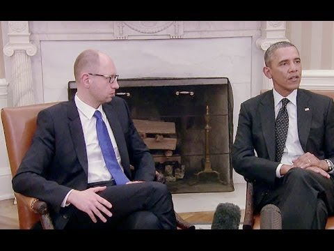 President Obama's Bilateral Meeting with Prime Minister Yatsenyuk of Ukraine