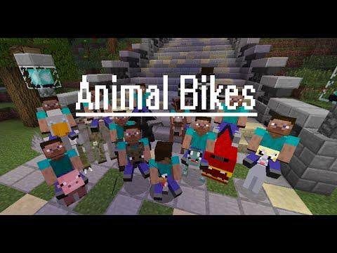 #1 (Minecraft) (Minecraft Mods) (Mod Animal bikes)