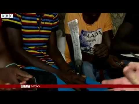 BBC Meets Gang 'Paid To Join Boko Haram' In Niger