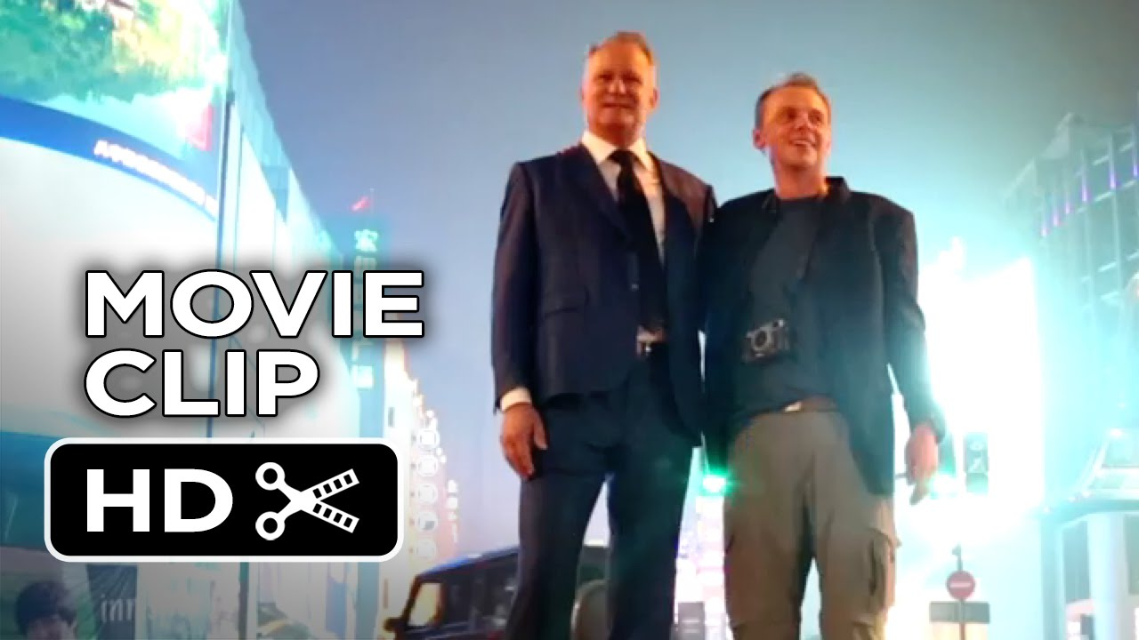 ... Search For Happiness Movie CLIP - China (2014) - Simon Pegg Movie HD