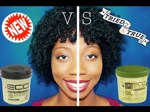 Wash n' Go Tutorial & Review | Eco Style Black Castor & Flaxseed Oil Gel (w/ Demo)