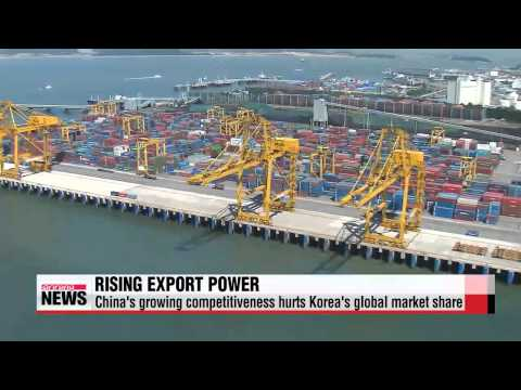 China′s growing trade power hurting Korean exports: report   KDI ″한국경제 수출부진