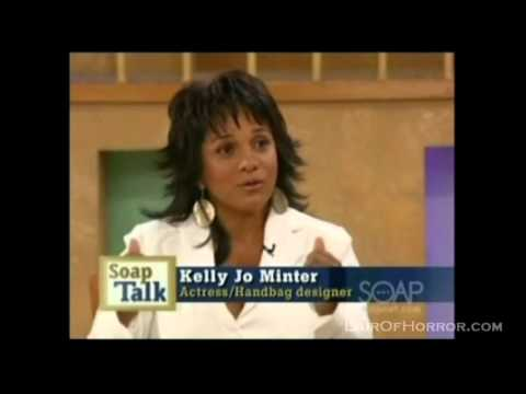 Kelly Jo Minter on Soap Talk
