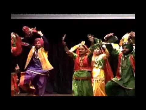 Punjabi Dance - Tera Yaar Bolda (AIMK : 8th Annual Day)