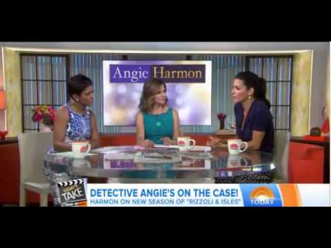 Angie Harmon on Today Show