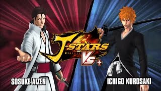 JStars Victory Vs  Bleach Trailer