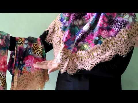 Jilbal Bunga Renda Jilbab instandenganJilbab instandenganmotif bungaini terbuat dari bahan spandek ditambah renda dibawahnya sehingga terlihat cantik, sangat...