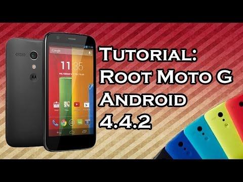 VideoTutorial | Conseguir acceso Root Motorola Moto G KitKat 4.4.2 HD