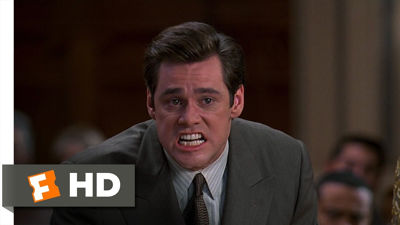 a review of liar liar a film featuring jim carrey Fletcher reede (jim carrey) is a succsessful and cheery lawyer (and of course,  as all lawyers dolies) however, his relationship with his son isn't as.