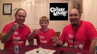 12-yr-old eats Carolina Reaper puree w/CutleryLover : Worlds Hottest Pepper, Crude Brothers