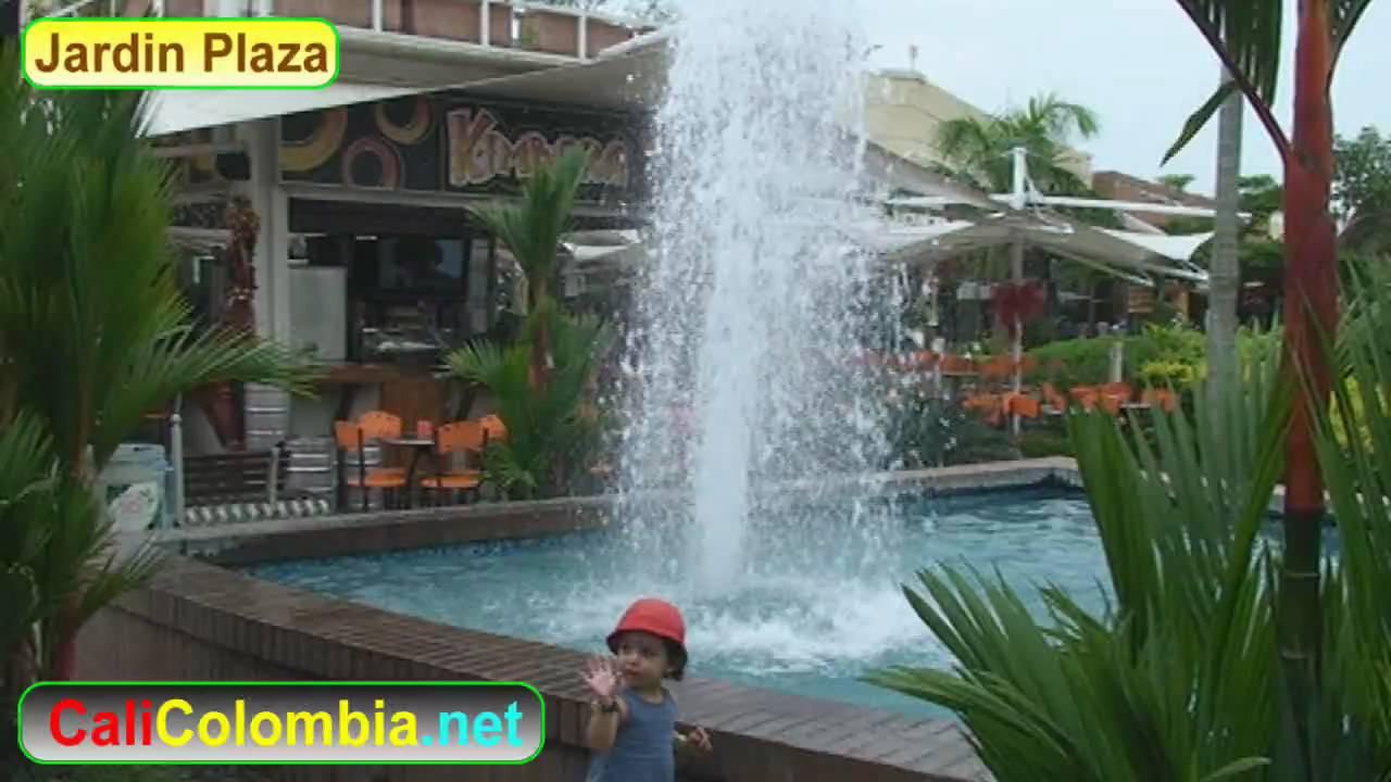 Jardin plaza shopping center cali colombia youtube for Bodytech cali jardin plaza