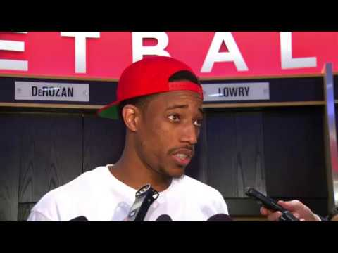 Raptors Post-Game: DeMar DeRozan - October 31, 2016