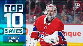 Top 10 Carey Price saves from 2018-19