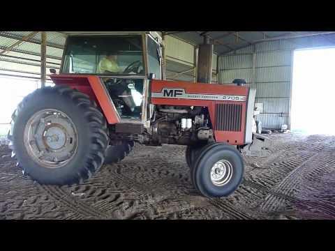Massey Ferguson 2705 Farm Tractor (HD)