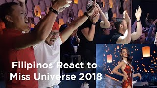 Epic Reactions to Miss Universe 2018 Catriona Gray
