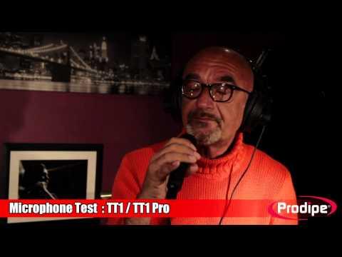 Comparative test TT1 - Lanen and TT1 Pro - Lanen Prodipe mics